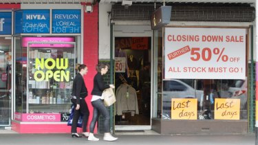 The retail strip on Bridge Road, Richmond, has suffered in recent years as shoppers desert it for other destinations.