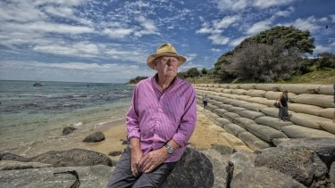 Nepean Ratepayers Association president Colin Watson at Portsea has urged the government to find a solution.