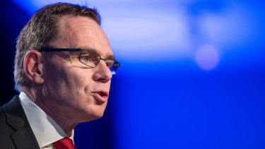 BHP Billiton chief executive Andrew Mackenzie said commodity prices had stopped falling and would trade in line with recent levels.