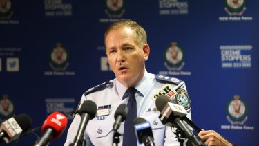 """NSW Police Commissioner Mick Fuller says criminals no longer """"stay in their lanes""""."""