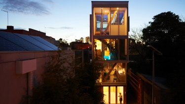 The 5x4 Hayes Lane, East Melbourne, project.