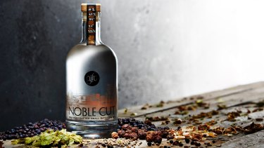 The Noble Cut is infused with pepperberry, bush tomato, a pinch of cascara and locally grown sencha.