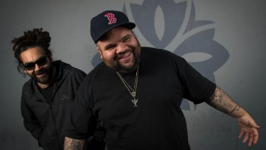 Australian hiphop duo A.B. Original have won the Australian Music Prize. They are Trials, a Ngarrindjeri man, and Briggs, a Yorta Yorta man.