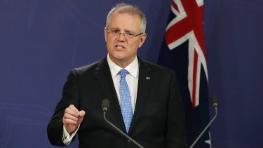 "Treasurer Scott Morrison said the ""US has laid down the challenge""."