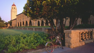 Stanford University Campus, where the young woman was sexually assaulted.