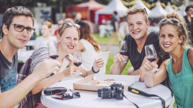 About 100 wineries will share their wares at the The Sydney Morning Herald Cellar Door in Hyde Park South on Sunday.