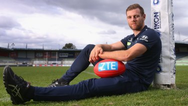 Carlton footballer Sam Docherty has endured some difficult times.