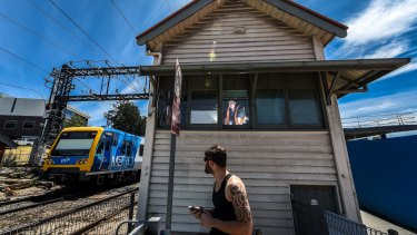 The future use of the Gardnier Station signal box is yet to be determined.
