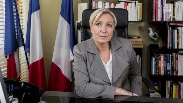 Marine Le Pen, leader of the French National Front.