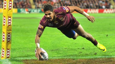 Injury has had Dane Gagai on the sidelines at Maroons training heading into game three.