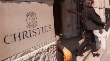 Christie's, the famous auction house, are alleged to have sold Louise McBride a fake painting.