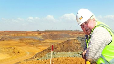 Mining magnate turned politician Clive Palmer.
