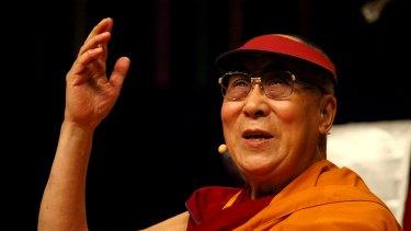 His Holiness The 14th Dalai Lama of Tibet.