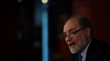 Impasse resolved: ARL Commission chairman John Grant.