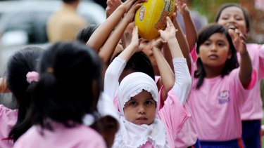 For the past 10 years AFL Indonesia has been running free football clinics in schools and orphanages in Jakarta, Bogor, Bandung and Cileungsi.