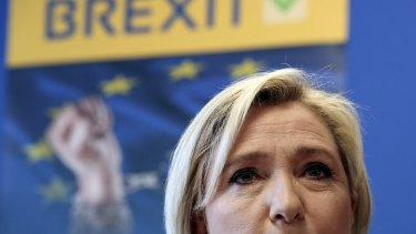 French far-right leader Marine Le Pen says pro-independence movements in the European Parliament will meet soon to plan their next move after the British vote.