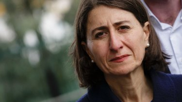 "Of council elections, Premier Gladys Berejiklian said she was ""pleased with the outcome across the board because the community has had its say""."