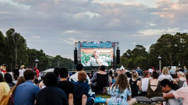 The Tropfest short film festival, the world's largest, moved to Parramatta this year.