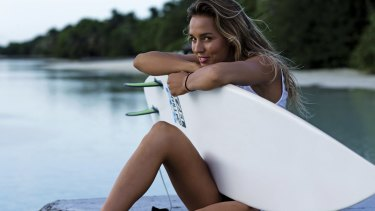 Sally Fitzgibbons is taking the discipline and determination she uses as a professional surfer into her entrepreneurial activities.