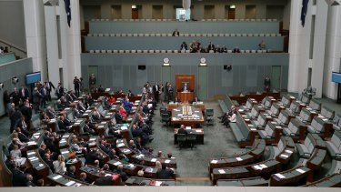 The lower house votes on the metadata laws, with Adam Bandt, Cathy McGowan and Andrew Wilkie the lone figures opposed.