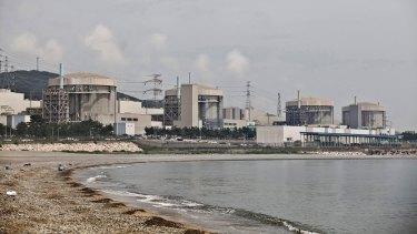 Under cyber threat ... The Korea Hydro & Nuclear Power Co Wolsong Nuclear Power Plant in Gyeongju, South Korea.