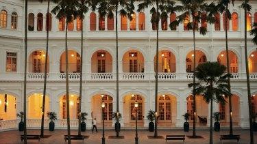 Raffles, Singapore.