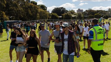 Police said that most festival attendees enjoyed the event safely.