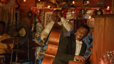 Mahershala Ali as Dr Don Shirley, a renowned classic and jazz pianist.