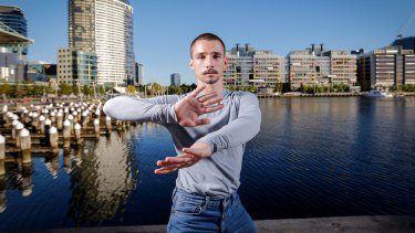 Dancer and choreographer James Batchelor says that when he stepped back on land after two months at sea ''my body was still swaying''.