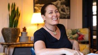 Writer/director Catriona McKenzie at Charlie's in LA.