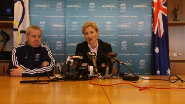 Mike Tancred and Fiona de Jong in 2008.
