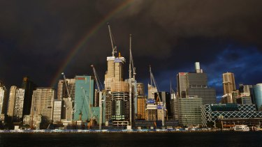 The new development at Barangaroo will also be part of the government vision.