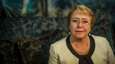 Chilean President Michelle Bachelet, whose second term ends next year, is the last female head of government standing in the Americas.