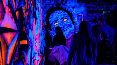 More than 600,000 people took part in White Night Melbourne this year.