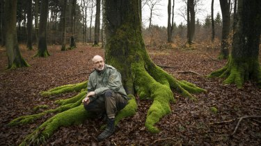 Forester Peter Wohlleben in Hummel, Germany, turned from forestry to tree keeping.