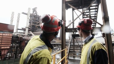 BlueScope steelworks at Port Kembla will remain open.