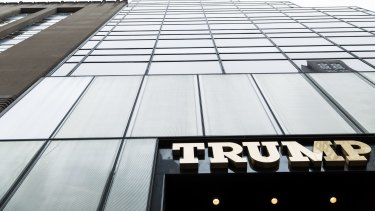 Trump Tower on Fifth Avenue in Manhattan.