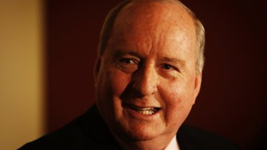 Broadcaster Alan Jones has been very supportive of now disgraced minister Ian Macdonald.