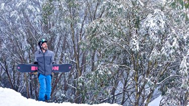 A winter white blanket has covered Falls Creek.