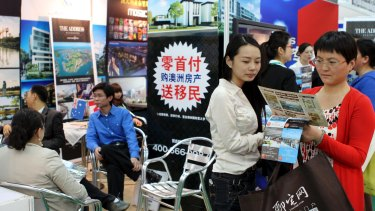 Chinese buyers invested $31.9 billion in real estate in Australia last year, the Foreign Investment Review Board says.