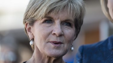 Foreign Minister Julie Bishop says China faces ''strong reputational costs'' if it refuses to abide by the UN ruling.