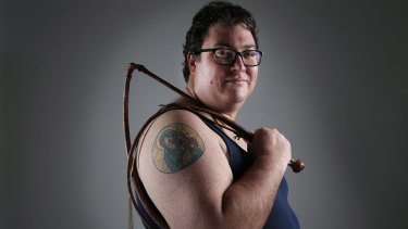 George Christensen – during his bull-dyke years. Photographed for Good Weekend magazine.