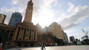 King George Square in Brisbane City.