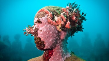 Detail from Jason deCaires Taylor's