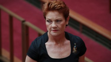 Pauline Hanson skipped estimates hearings in October and February, and has yet to appear at the latest round.