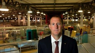 Australian Synchrotron director  Andrew Peele.