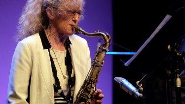 Outstanding: Australian musician Sandy Evans.