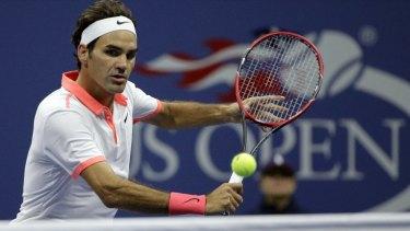 Shock defeat: Roger Federer.