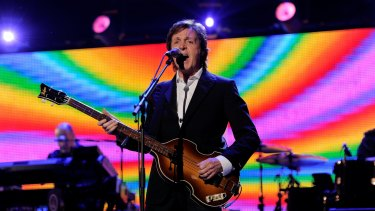 Sir Paul McCartney's lawyers launched action in a New York court on Wednesday.
