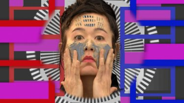 Hito Steyerl, <i>How Not To Be Seen</i>. Video and sculptural installation. Courtesy of the artist and Andrew Kreps Gallery, New York